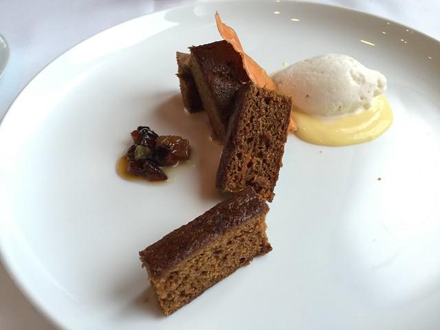 Sweet potato cake - Restaurant Gwendolyn