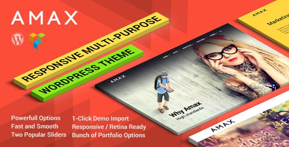 Amax v1.1.1 – Responsive Multi-Purpose WordPress Theme