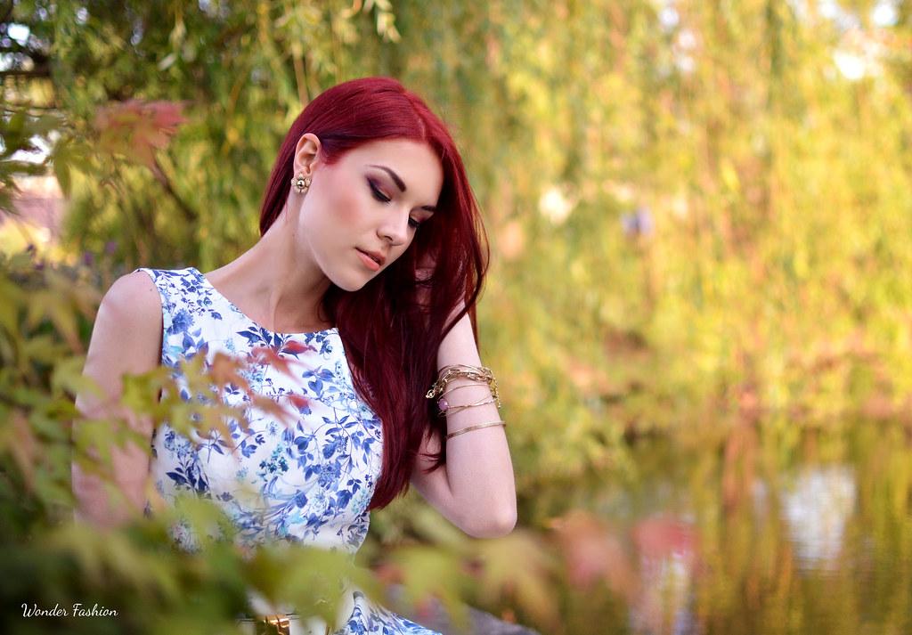blue flower dress5