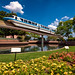 Monorail Monday - Flower Beds of Future World