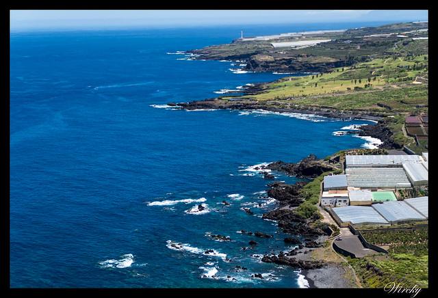Punta de Teno lugar más occidental Tenerife - Costa frente a Buenavista del Norte