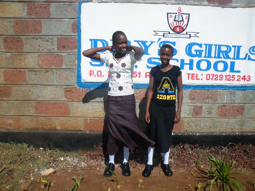 Arrival at Drys Girl School