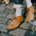 Cobbles and suede by Stephen Dowling