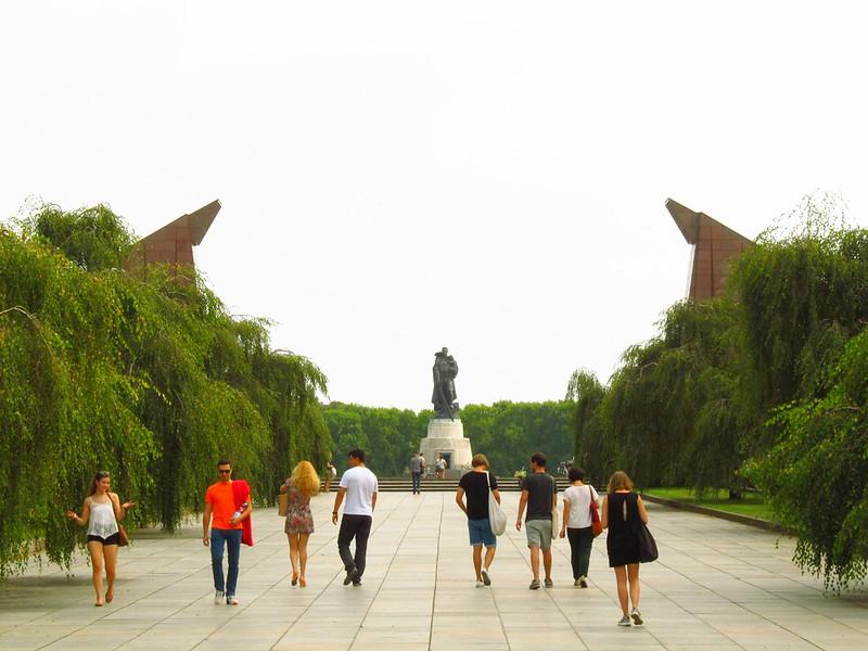 Memorial Soviético Treptower Park - AgendaBerlim.com Foto Pacelli Luckwu