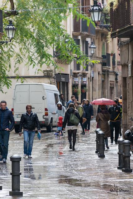 Tras la tempestad... El Born, barri de la Ribera, Barcelona