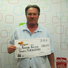 Kevin Potter - $30,000 Hot Lotto Sizzler