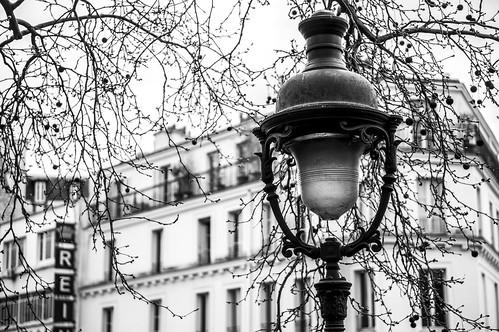 Lampadaire, Montmartre