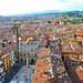 View from the top of Torre dei Lamberti
