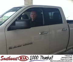 #HappyAnniversary to Jerry & Tanya Baker  on your 2012 #Ram #1500 from Steve Kravetz  at Southwest KIA Rockwall!