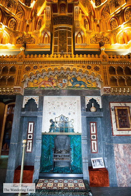 The Arab Room at Cardiff Castle