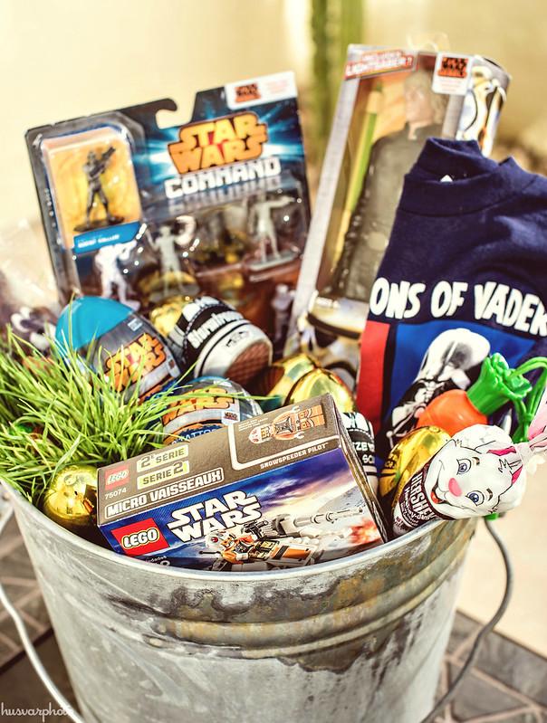 #DisneyEaster star wars easter basket ideas