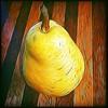 Van Gogh's pear #impressionist #digitalpainting