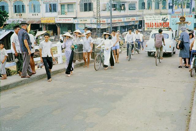 SAIGON 1961 - Cầu Ông Lãnh - Bến Chương Dương