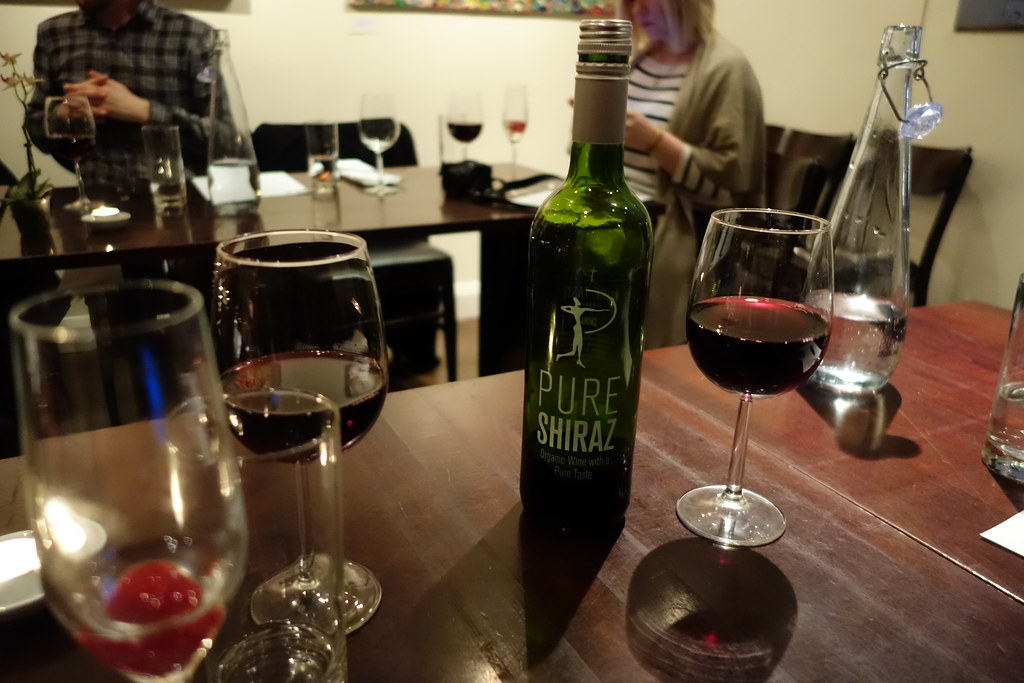 Organic Red Wine, Pure Shiraz, Pure Taste, Westbourne Grove