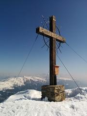 Gipfelkreuz Öfenspitze 2.334 m