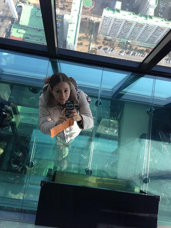 Selfie from 60 floors up.