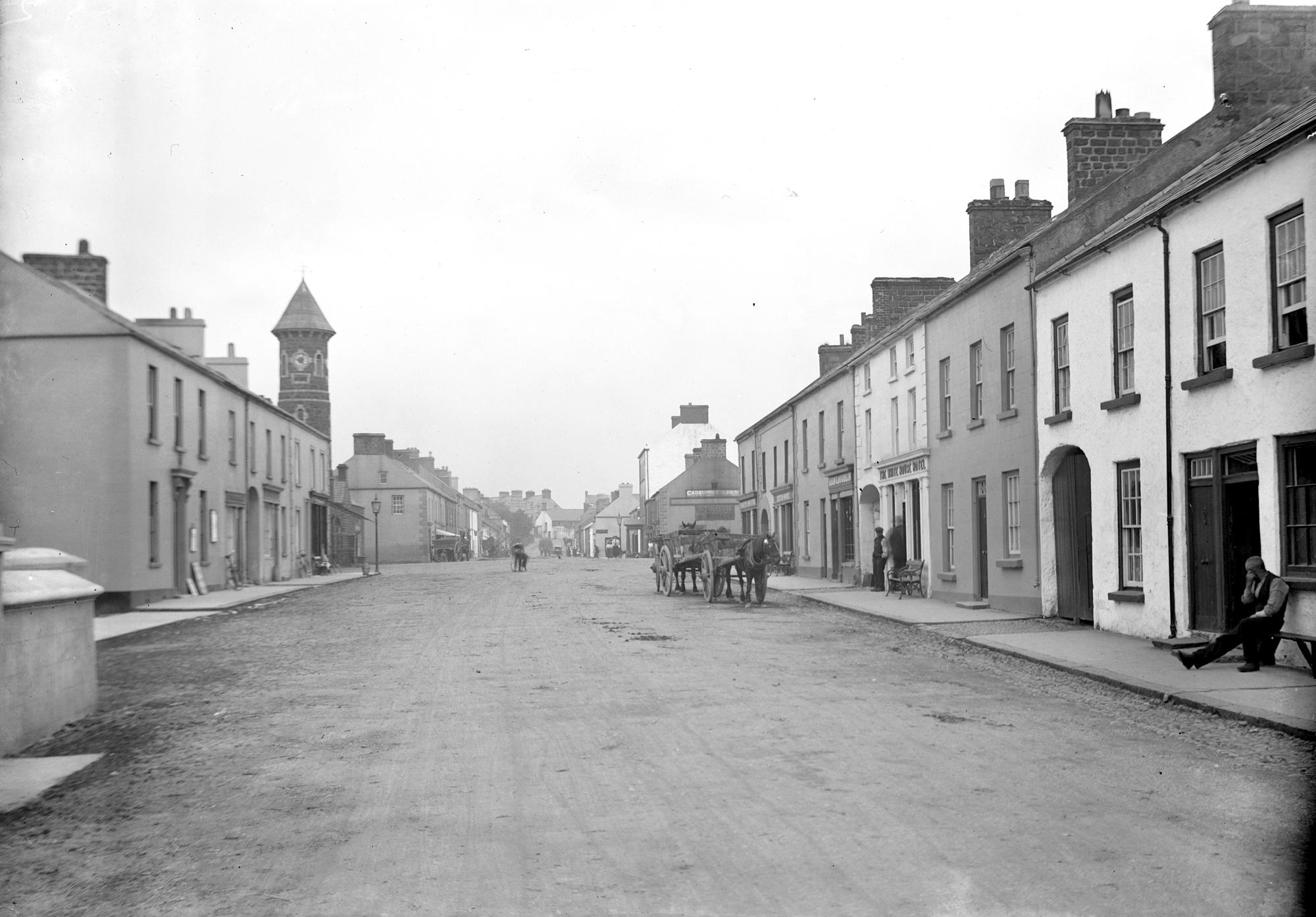 Street in Bushmills, Co. Antrim