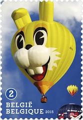 16 Luchtballonnen zegel E