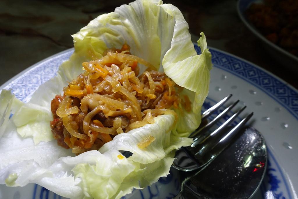 Nyonia炒萝卜配生菜马来西亚塔克Nyonia餐饮