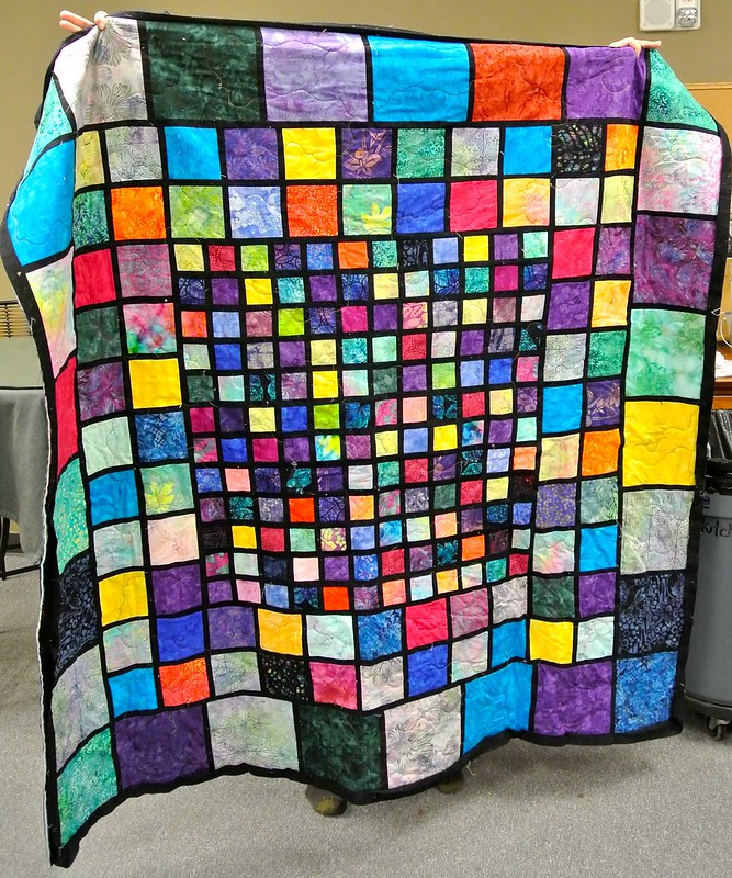 Linda's Stained Glass Quilt