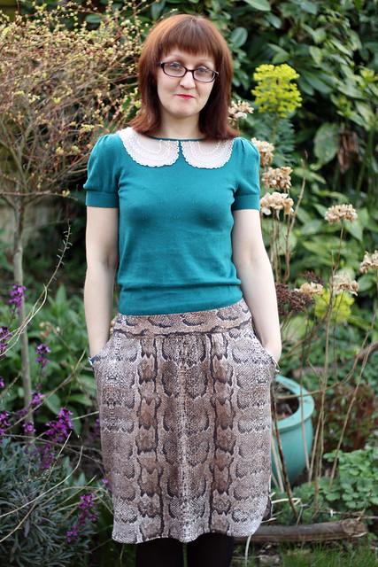 #SewSolidarity Ilsley Skirt