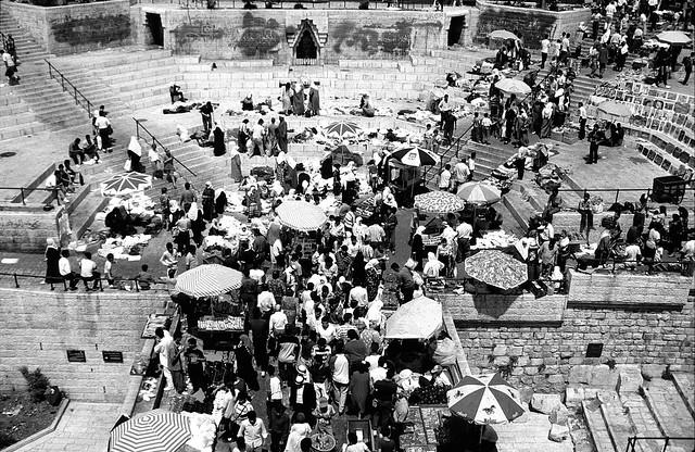 The Damascus Gate, Old City of Jerusalem