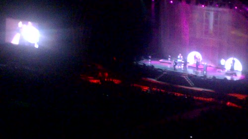 Naturally 7 performing Summer Breeze at the Michael Bublé concert @ Cape Town Stadium, March 2015
