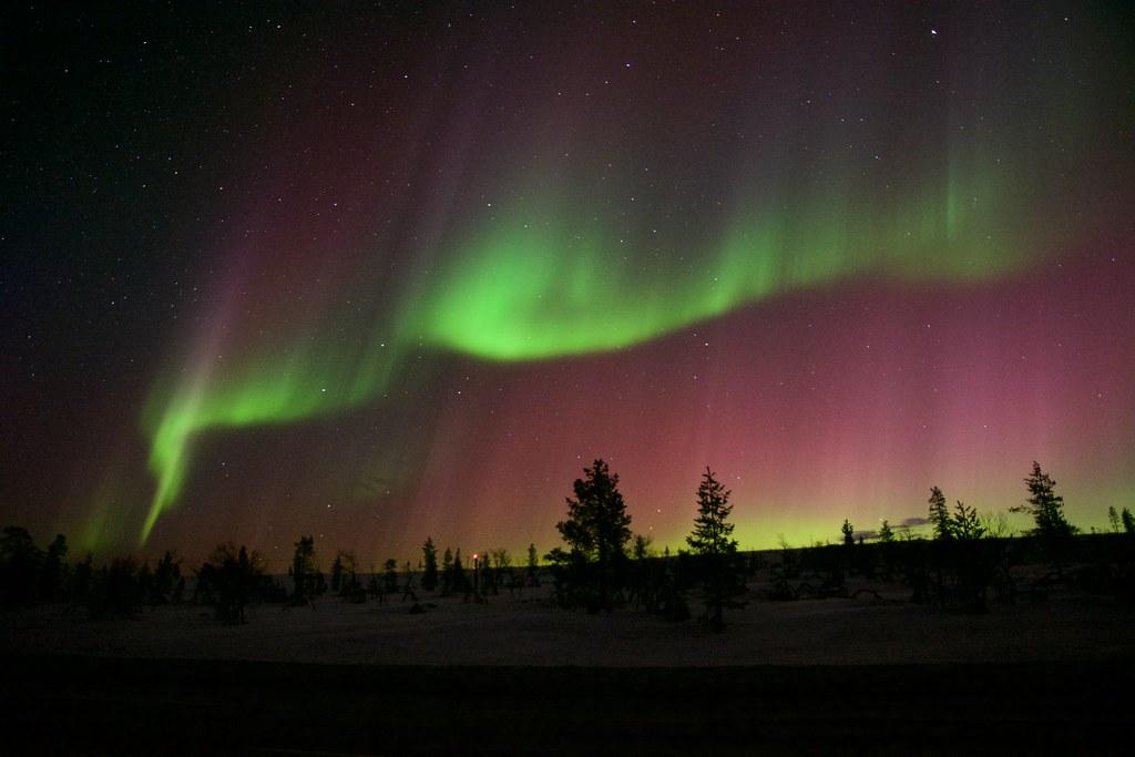 Finnish aurora, KP8