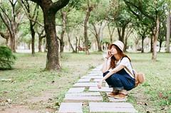 漫步在大安森林公園