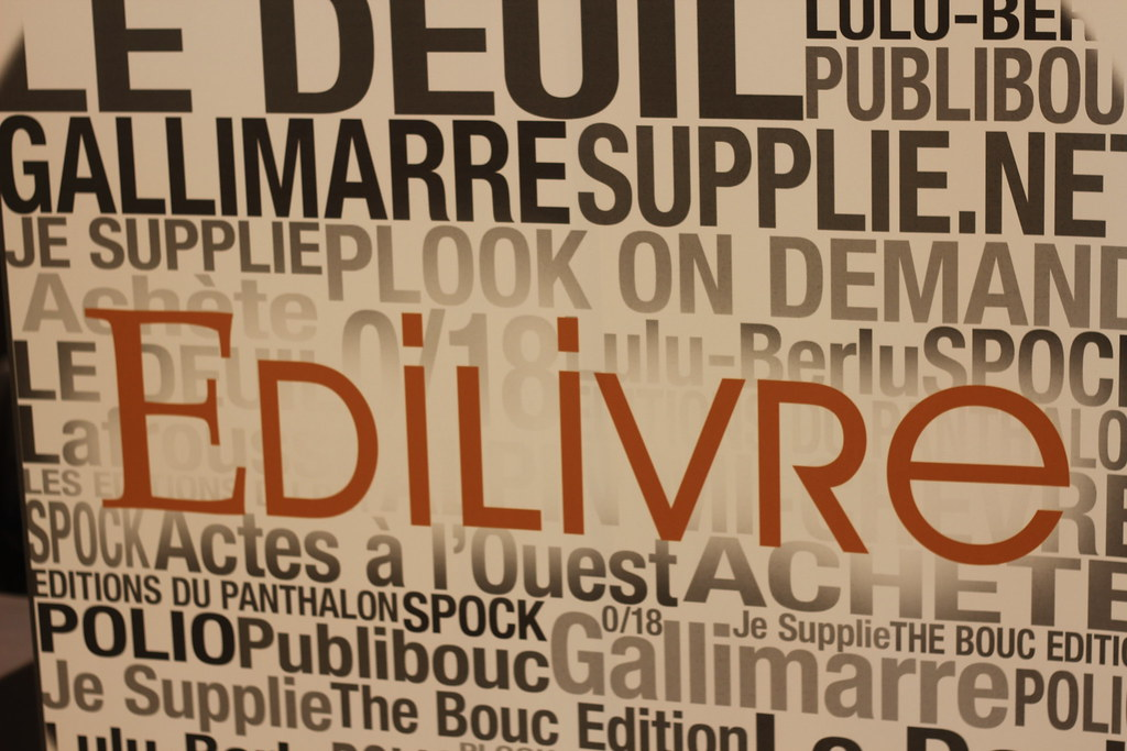 Edilivre - Salon du Livre de Paris 2015