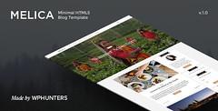 Melica - Minimal Responsive HTML5 Blog Template (P…