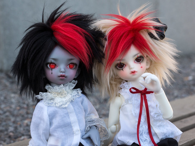 Little Devils Rigel and Franz