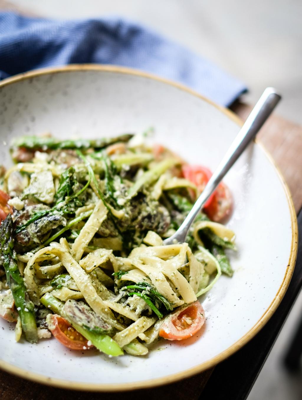 FIX Grill Cafe's Vegetarian Primavera Pasta