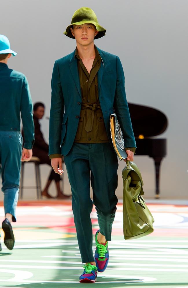 7-2 Burberry Prorsum Menswear Spring Summer 2015 Collection - Look 9