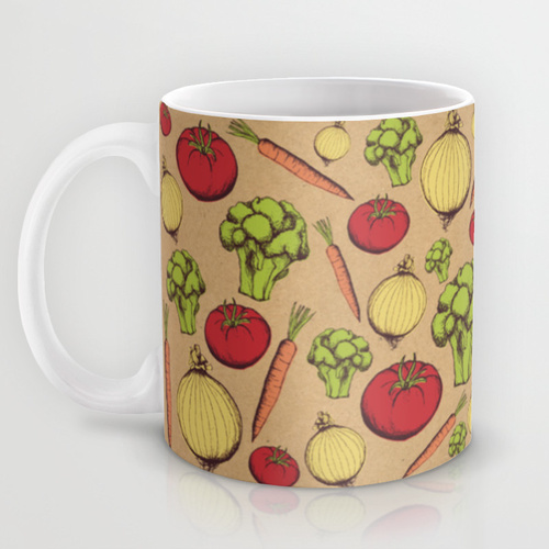 vegetable-pattern-coffee-mug