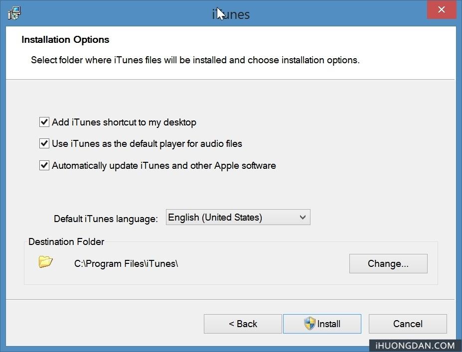 Hướng dẫn Download Tải và Cài đặt iTunes hỗ trợ sử dụng phần mềm