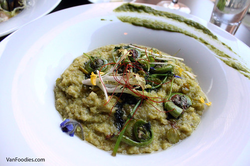 Green Garlic Quinoa Risotto