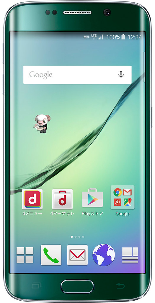 Galaxy S6 edge SC-04G full scale product image