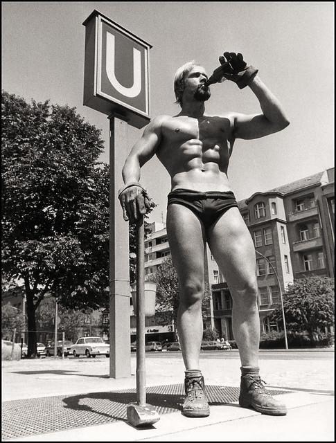 1973 Berlin Bauarbeiter