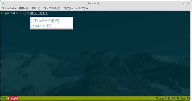 fcitx-mozc japanese input method