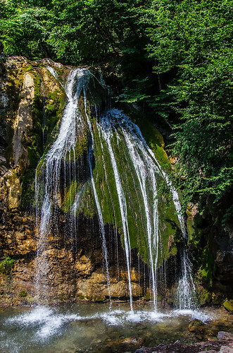trip travel nature water landscape waterfall crimea
