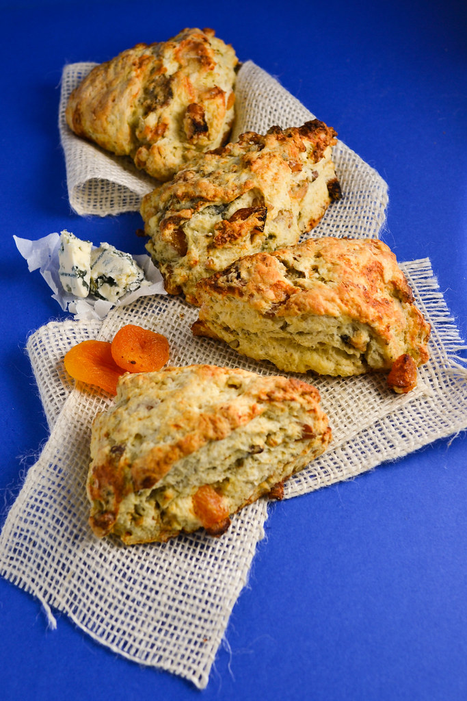 Apricot, Walnut, and Blue Cheese Scones | Things I Made Today