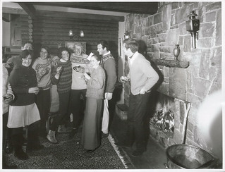 Party Scene at the Chalet Restaurant, Arthur's Pass, Canterbury