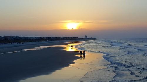 sunrise sunsetbeachnorthcarolina