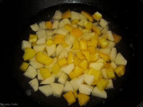 Paprikovo - zemiakove kari