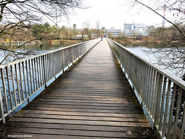 Attisholz Bridge River Aar