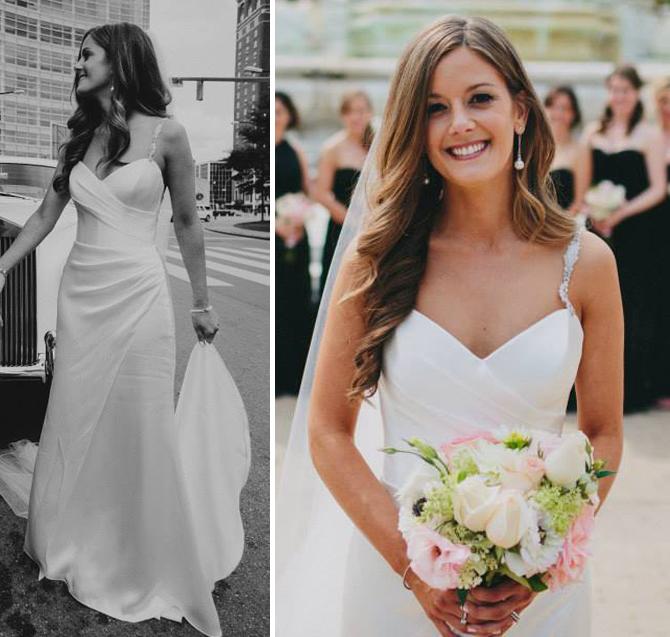 Jessica - Suzzane Neville wedding gown
