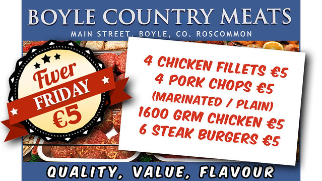 Fiver Friday, Boyle Country Meats