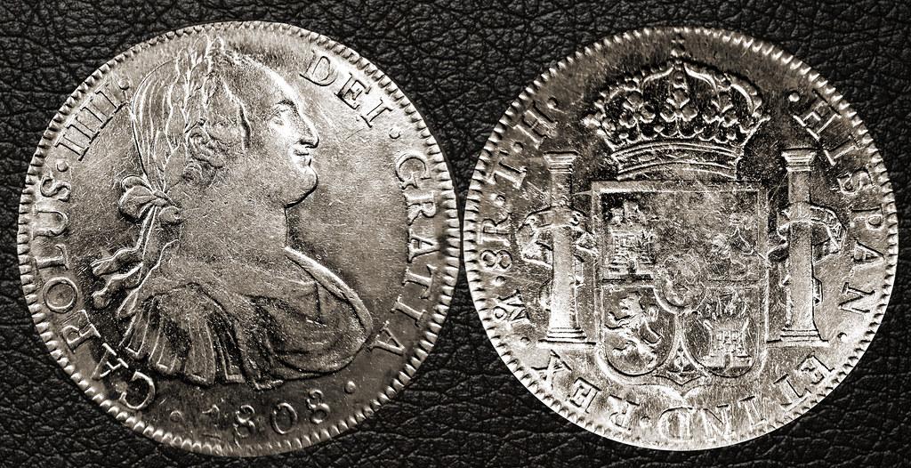 Carlos IIII - 8 Reales 1808 - Mexico Mo TH 16468556904_f85e32bd96_b