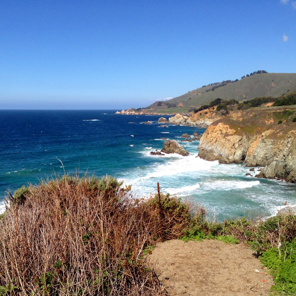 Coastline along the PCH
